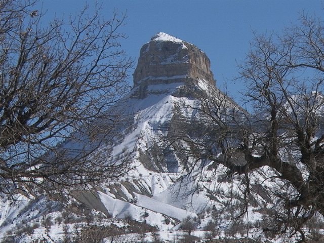 زمستان کوه قلاقیران ایلام